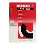 Бумага копировальная Kores А4, черная, 100 листов