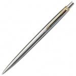 Ручка шариковая Parker Jotter Steel K691 F, синяя