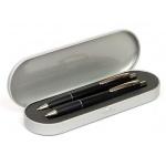 Набор пишущих принадлежностей Ico Omega шариковая ручка, автокарандаш, черный корпус