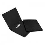 Пластиковая папка с зажимом Bantex Дания-Россия черная, А4, 3301-10