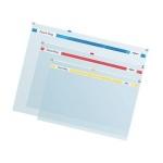 Пластиковая папка на молнии Snopake Zippa-Bag прозрачная, 180мкм, А4
