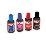 Штемпельная краска на водно-масляной основе Kores 30 мл, красная
