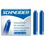 Картридж для перьевой ручки Schneider № 5 синий, 6шт