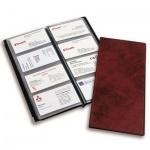 Визитница Koh-I-Noor Gama на 112 визиток, черная, 220х250мм, пластик, с мет. уголками