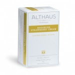 Чай Althaus Rooibush Strawberry Cream, ройбуш, 20 пакетиков