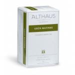 Чай Althaus Grun Matinee, зеленый, 20 пакетиков