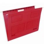 Папка подвесная стандартная А4 Bantex, 25 шт/уп, красная
