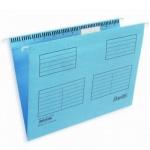 Папка подвесная стандартная А4 Bantex, 25 шт/уп, голубой