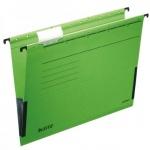 Папка подвесная стандартная А4 Leitz Alpha зеленая, 19860055