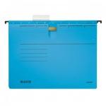 Папка подвесная стандартная А4 Leitz Alpha синяя, 19840035