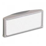 Губка для маркерной доски Hebel 319 57х114мм, магнитный, серый