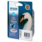 Картридж струйный Epson C13 T11154 А10, светло-голубой