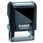 Оснастка для прямоугольной печати Trodat Printy 26х9мм, черная, 4910