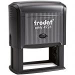 Оснастка для прямоугольной печати Trodat Printy 75х38мм, черная, 4926