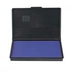 Штемпельная настольная подушка Trodat 90х50мм, синяя, краска на водной основе