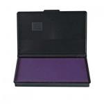 Штемпельная настольная подушка Trodat 90х50мм, фиолетовая, краска на водной основе