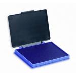 Штемпельная настольная подушка Kores 70х110мм, фиолетовая, краска на водной основе, пластик