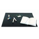 Коврик настольный для письма Bantex 49х65см, с карманом, черный