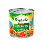 Фасоль Bonduelle белая в томатном соусе пикантная, 430г