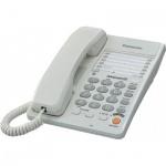Телефон проводной Panasonic KX-TS2363RU белый