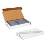 Пружины для переплета металлические Profioffice, на 80-120 листов, 14.3мм, 100шт, серебристые