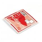 Конверт для CD Packpost белый, 125х125мм, 90г/м2, 25шт, без окна, декстрин