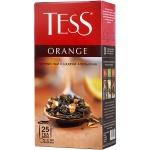 Чай Tess Orange (Оранж), черный, 25 пакетиков
