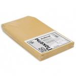 Пакет почтовый бумажный плоский Multipack С5 крафт, 162х229мм, 80г/м2, 50шт, стрип