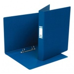 Папка на 2-х кольцах А4 Bantex темно-синяя, 35 мм, 1300-01