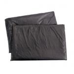 Мешки для мусора 120л, черные, 40мкм, 50шт/уп