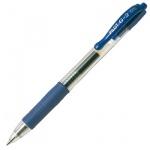 Ручка гелевая автоматическая Pilot BL-G2 синяя, 0.3мм