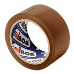 Клейкая лента упаковочная Unibob 50мм х66м, коричневая, 45мкм