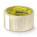 Клейкая лента упаковочная Universal 50мм х50м, прозрачная, 40мкм