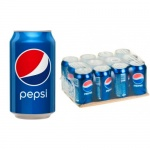 Напиток газированный Pepsi, 0,33л x 12шт ж/б
