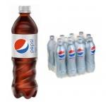 Напиток газированный Pepsi Light, 0,6л х 12шт ПЭТ