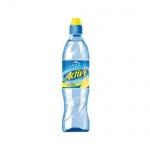 Вода питьевая Aqua Minerale Актив без газа, ПЭТ, 0,6л х 12шт лимон