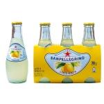 Напиток газированный Sanpellegrino Limonata, 0.2л, стекло, лимон