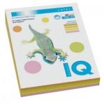 Цветная бумага для принтера Iq Color MIX Neon, А4, 200 листов, 80г/м2, 4 цвета