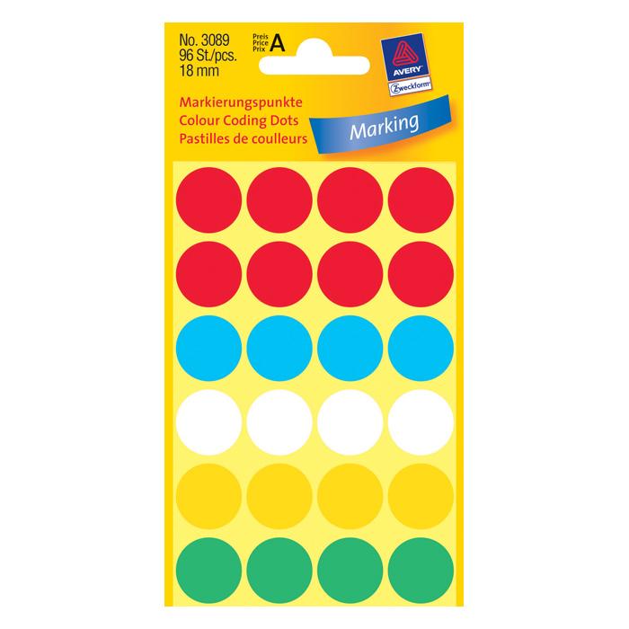 Цветные наклейки