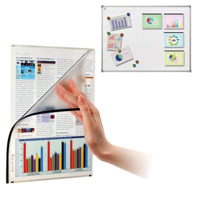 Магнитная рамка для магнитной доски Boardsys, А4, 22х30см, черный, 5шт/уп