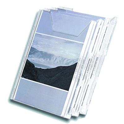 Лоток настольный для брошюр №503, А4, 215x297x32мм, 3 отделения