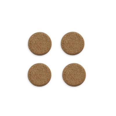 Магниты для магнитной доски Bi-Office IM 036201, d=25мм, коричневые, 6шт/уп