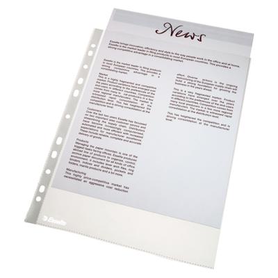 Файл-вкладыш А4 Esselte Economy, 46мкм, матовый, 100 шт/уп
