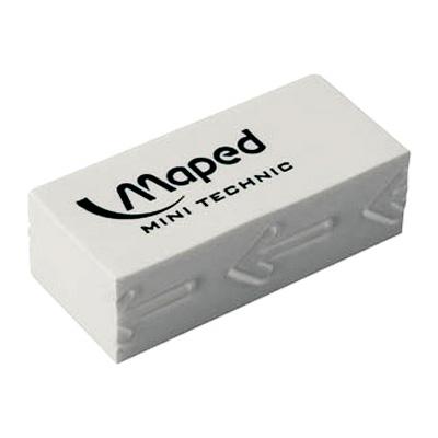 Ластик малый Maped Technic 011300,белый, 011300