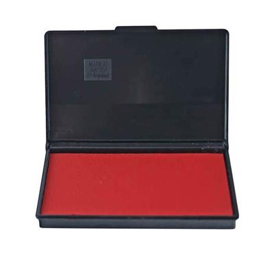 Штемпельная настольная подушка Trodat 9052, 110х70мм, красная, краска на водной основе