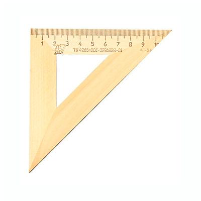 Угольник деревянный Можга, 11см, 45°/45°, С-138