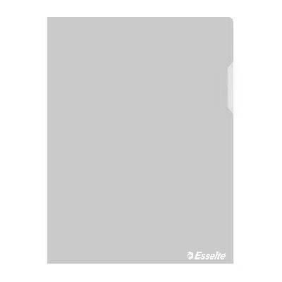 Папка-уголок Esselte 55430, A4, 150мкм, прозрачная, 25шт/упак