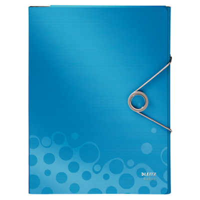 Папка-органайзер Leitz Bebop 45800037, А4, 4 раздела, синяя