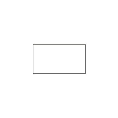 Этикет-лента прямоугольная 16х26 мм, белый, 1000шт/рул, 10 рулонов