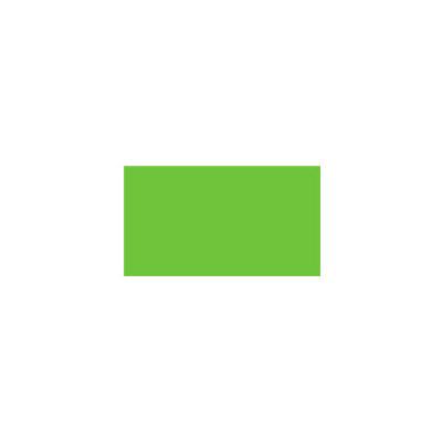 Этикет-лента прямоугольная 16х26 мм, зеленый,1000шт/рул, 10 рулонов